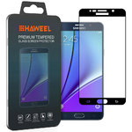 Full Tempered Glass Screen Protector - Samsung Galaxy Note 5 - Black